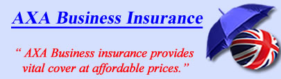 Logo of AXA business insurance UK, AXA commercial insurance quotes, AXA Business Cover UK