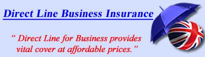 Logo of Direct Line business insurance UK, Direct Line commercial insurance quotes, Direct Line Business Cover UK
