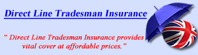 Logo of Direct Line tradesman insurance UK, Direct Line tradesman insurance quotes, Direct Line Tradesman Cover UK
