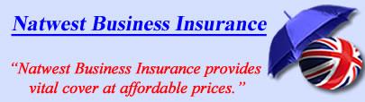 Logo of Natwest business insurance UK, Natwest commercial insurance quotes, Natwest Business Cover UK