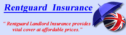 Logo of Rentguard insurance UK, Rentguard landlord insurance quotes, Rentguard Cover UK