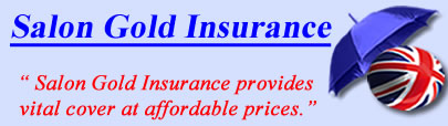 Logo of Salon Gold insurance UK, Salon Gold insurance quotes, Salon Gold Cover UK