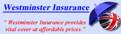 Logo of Westminster insurance UK, Westminster taxi insurance quotes, Westminster Cover UK