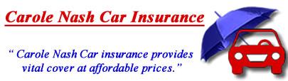 Image of Carole Nash car insurance logo, Carole Nash insurance quotes, Carole Nash comprehensive car insurance