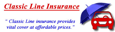 Image of Classic Line car insurance logo, ClassicLine insurance quotes, Classic Line vintage car insurance