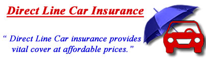 Image of Direct Line car insurance logo, Direct Line insurance quotes, Direct Line comprehensive motor insurance