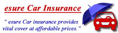 Image of esure insurance logo, esure insurance quotes, esure comprehensive motor insurance