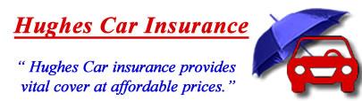 Image of Hughes Car insurance logo, Hughes motor insurance quotes, Hughes car insurance