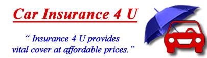 Image of Car Insurance 4 U logo, Insurance 4 U motor insurance quotes, Car Insurance 4 U