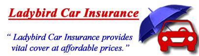 Image of Ladybird Car insurance logo, Ladybird motor insurance quotes, Ladybird car insurance