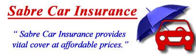 Image of Sabre Car insurance logo, Sabre motor insurance quotes, Sabre car insurance