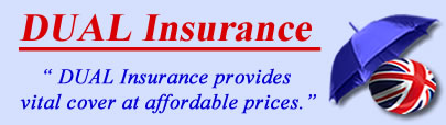 Logo of Dual insurance UK, Dual insurance quotes, Dual insurance Products