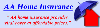 Logo of AA Home Insurance, AA UK Logo, AA Contents and House Insurance Logo