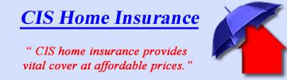 Logo of Co-op Home Insurance, CIS UK Logo, CIS Buildings and House Insurance Logo