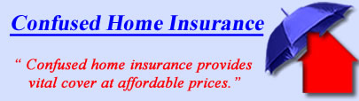 Logo of Confused Home Insurance, Confused UK Logo, Confused Buildings and House Insurance Logo