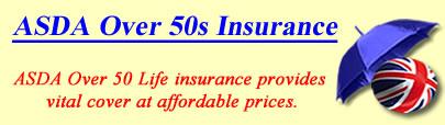 Image of ASDA Over 50's Life insurance, ASDA Over 50 insurance quotes, ASDA life insurance