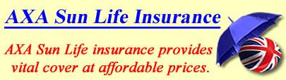 Image of AXA Life insurance, AXA Sun Life quotes, AXA Sun Life