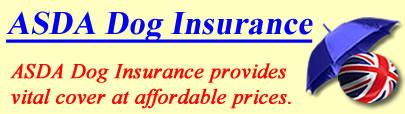 Logo of ASDA Dog insurance UK, ASDA dog insurance quotes, ASDA dog cover UK