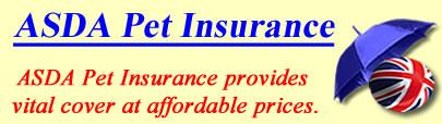 Logo of ASDA Pet insurance UK, ASDA pet insurance quotes, ASDA pet cover UK