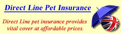 Logo of Direct Line Pet insurance UK, Direct Line pet insurance quotes, Direct Line pet cover UK