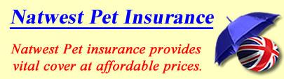 Logo of Natwest Pet insurance UK, Natwest pet insurance quotes, Natwest pet cover UK