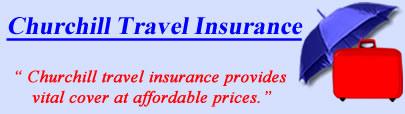 Logo of Churchill travel insurance UK, Churchill holiday insurance quotes, Churchill Travel Cover UK