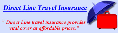 Logo of Direct Line travel insurance UK, Direct Line holiday insurance quotes, Direct Line Travel Cover UK