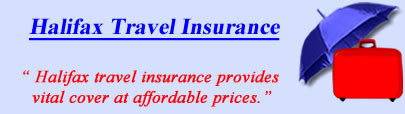 Logo of Halifax travel insurance UK, Halifax holiday insurance quotes, Halifax Travel Cover UK