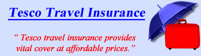Logo of Tesco travel insurance UK, Tesco holiday insurance quotes, Tesco Travel Cover UK