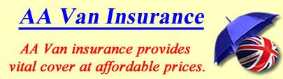 Image of AA Van insurance, AA insurance quotes, AA Van insurance
