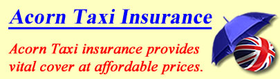 Image of Acorn Taxi insurance, Acorn insurance quotes, Acorn Taxi insurance