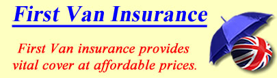 Image of First Van insurance, First insurance quotes, First Van insurance